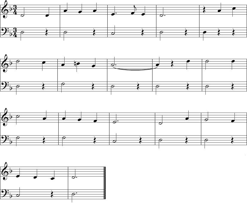 Piano scarborough fair piano sheet music : Scarborough Fair - Piano noter